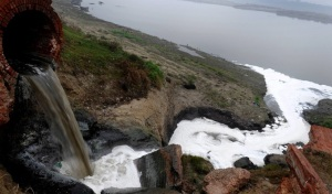 Ganga polluted